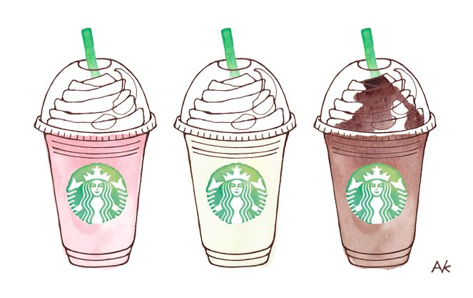 FRAPPUCCINO DRAWING image galleries - imageKB.com