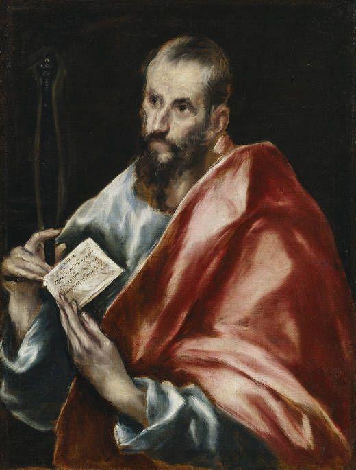 San Pablo, 1608 - 1614 (El Greco y taller).