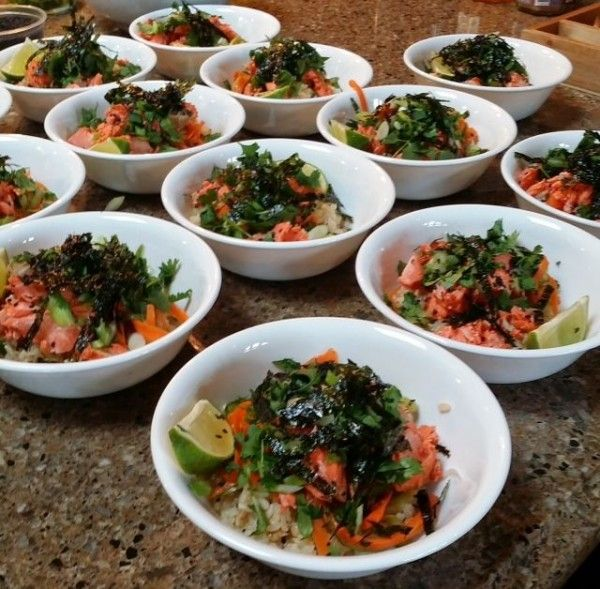 Brown Rice Sushi Bowl - Stacey Deering Calgary Holistic Nutritionist