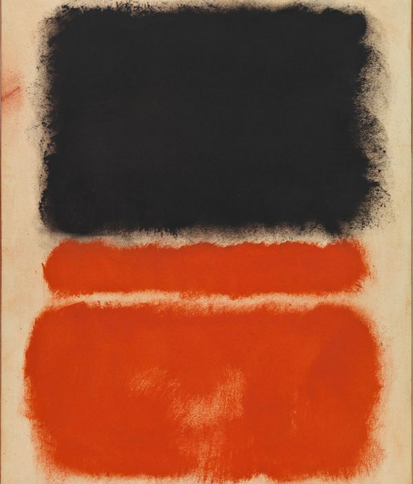 """Mark Rothko - Red - 1968 """"To paint a small picture is to place yourself outside your experience, to look upon an experience as a stereopticon view or with a reducing glass. However you paint the larger picture, you are in it. It isn't something you command!"""" – Mark Rothko www.markrothko.org"""