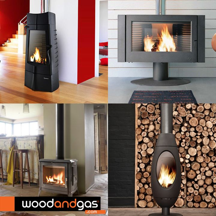 #Invicta radiant wood heaters are more than just efficient heating solutions. Their beautiful designs add a distinct designer touch to any interior. Available at #WoodandGas