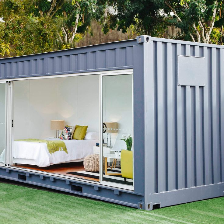20 Cool As Hell Shipping Container Homes - Outdoor Rooms... #containerhome #shippingcontainer