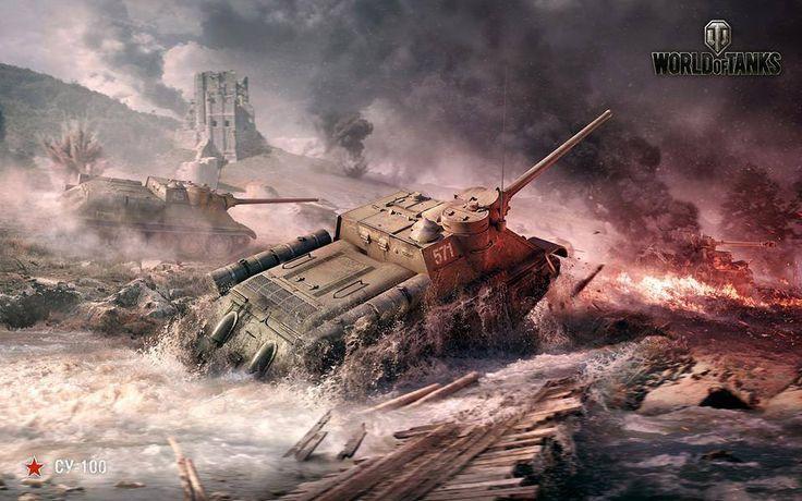 SU-100, were hunting tanks of the Soviet Union