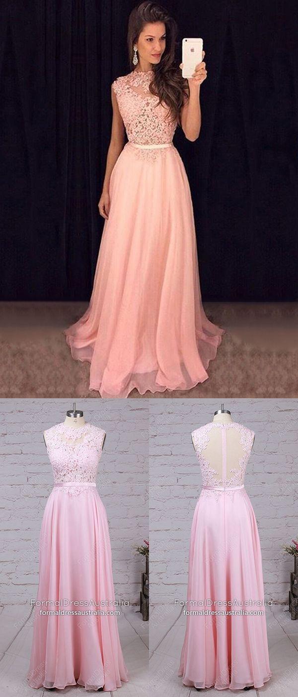 28c0c5be82e Long Formal Dresses Pink