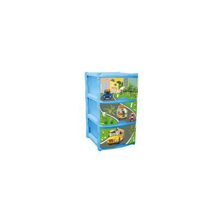 Little Angel Комод для детской комнаты City Cars Tutti 3 ящика, Little Angel, голубой  — 1799р.  Комод для детской комнаты City Cars Tutti 3 ящика, Little Angel, голубой  ‒ это детская мебель от отечественного производителя . Комод изготовлен из экологически безопасного материала ‒ полипропилена, который обеспечивает легкость конструкции, прочность, устойчивость к физическим и химическим воздействиям. Окраска комода обладает высокой устойчивостью цвета к внешним воздействиям. Комод для…