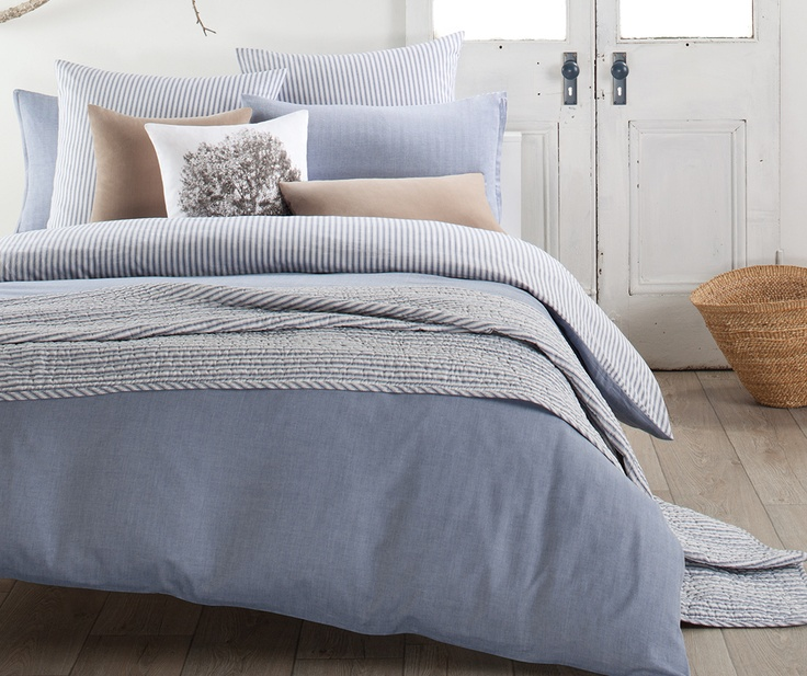 BED :: QUILT COVER SETS :: Kipling Blue - designerschoice.com.au