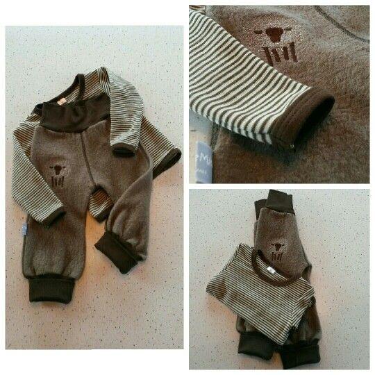 Kids clothes made in wool Hjemmesydd barneklær i ull