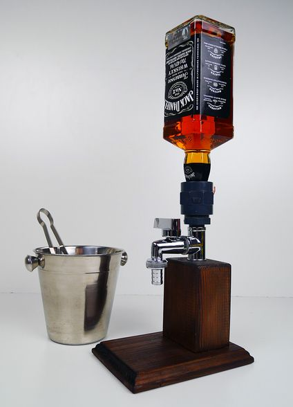 Alcohol Dispenser Small Chrome