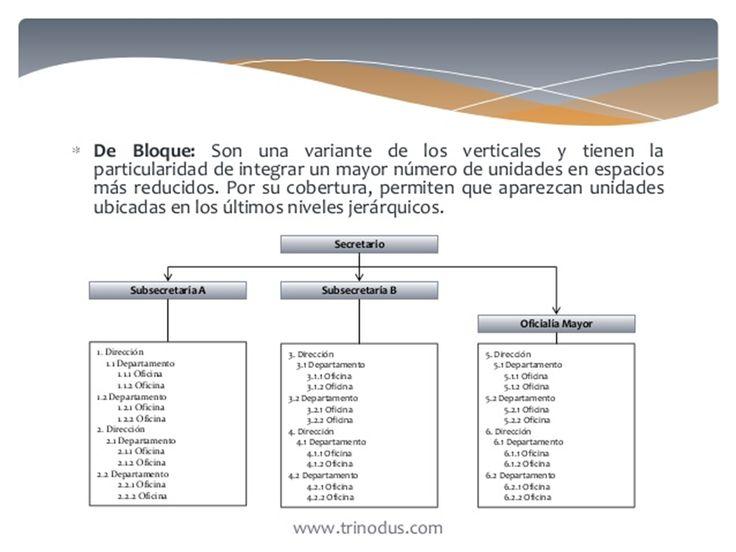 Por Su Presentacion o Disposicion Grafica: D). de bloque.
