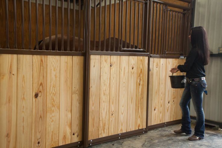 Designed to fit Priefert Premier stalls, add strength and beauty to your stalls by purchasing our stained, pre-cut, tongue & grooved wood kits.