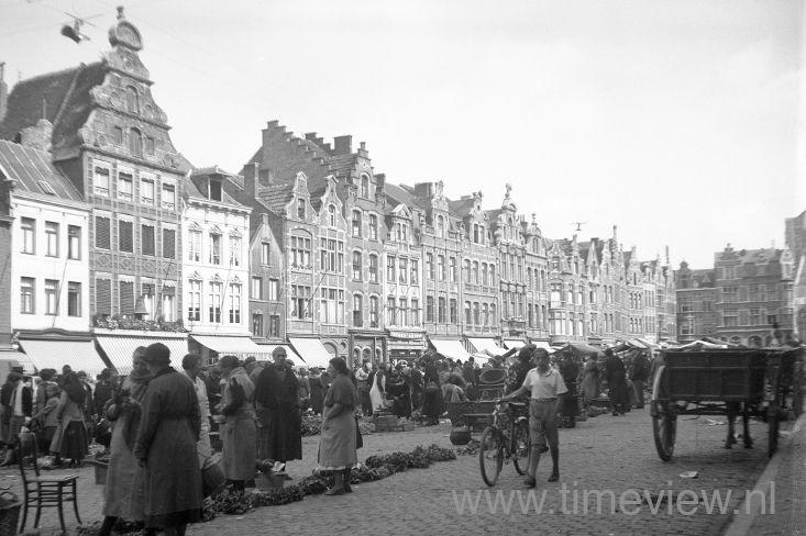 A045. Amsterdam market 1930s
