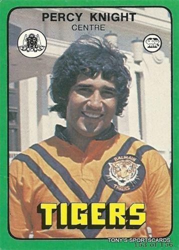 1978 153 Balmain Tigers