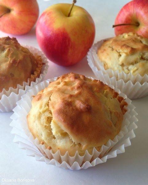 Кулинарные моменты: Яблочно-карамельные кексы
