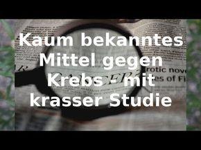 Kaum bekanntes Mittel gegen Krebs - mit krasser Studie - corneliaschmidt.net