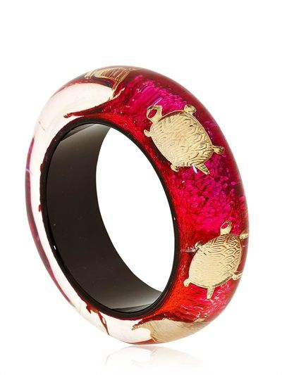 NICHOLAS KING - TURTLE BANGLE BRACELET - LUISAVIAROMA