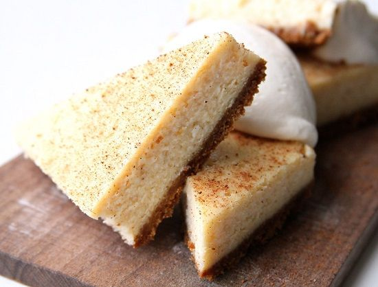 Recipes For Eggnog Cheesecake