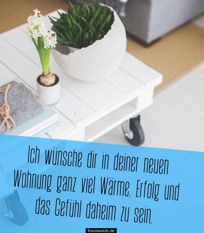 33 Glückwünsche zum Einzug - finestwords.de | Einzug
