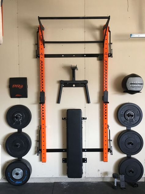 Tired of not having a good place to stash your Dip Station? Look no further than our Dip Station Storage rack! Mount it directly on the wall between the rack uprights and get your dip station out of t