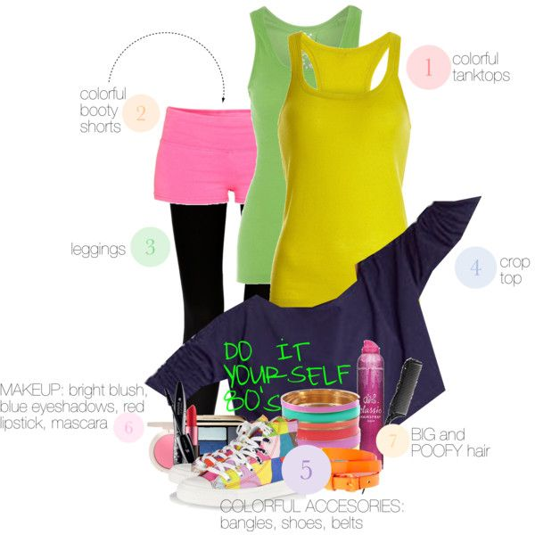 443 best blast from the past images on pinterest carnivals inspiration for our 80s party 80s workout clothes80s workout costume80s costumecostume ideasparty costumesdiy solutioingenieria Images