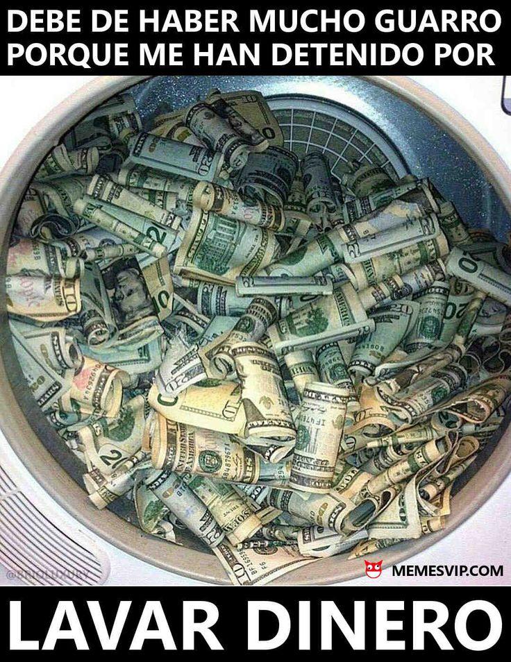 Meme lavar dinero #2018 #2019 #detodo #chistes #meme #memes #momos #español #memesenespañol #memesvip #memesvipcom #memesvip_com #chistecorto #humor #funny #risa #lol #chistesmalos #comparte #funnypictures #divertido #gracioso #spanishmemes #politics #money #dinero #lavar #cleaning