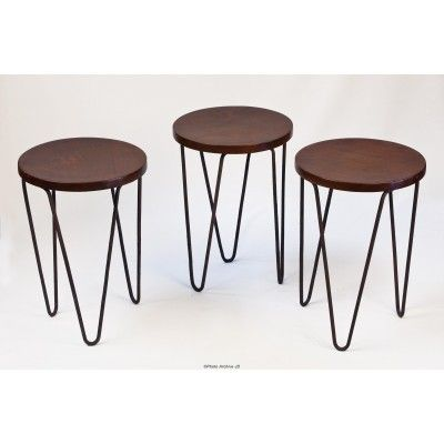 Pierre-Jeanneret- Low Stool 1953-54 Perfect