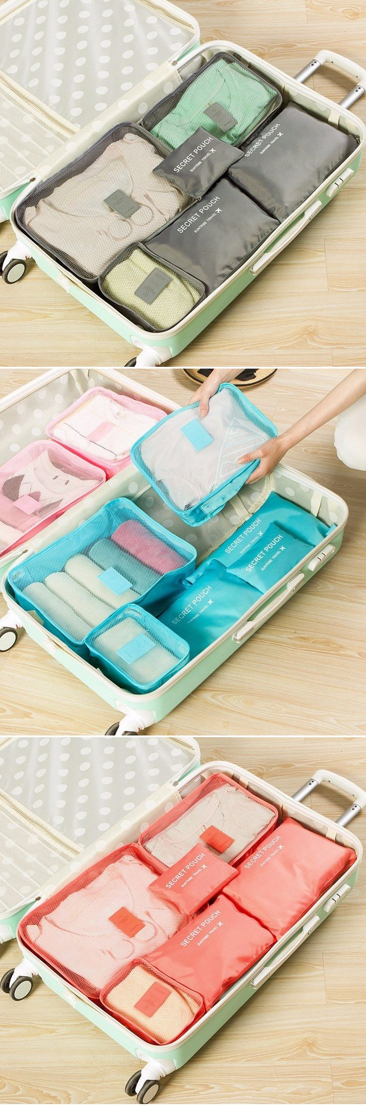 best wardrobe ideas wardrobes walking closet 6 pcs oxford travel waterproof storage bag large capacity folding bag oxford storage container