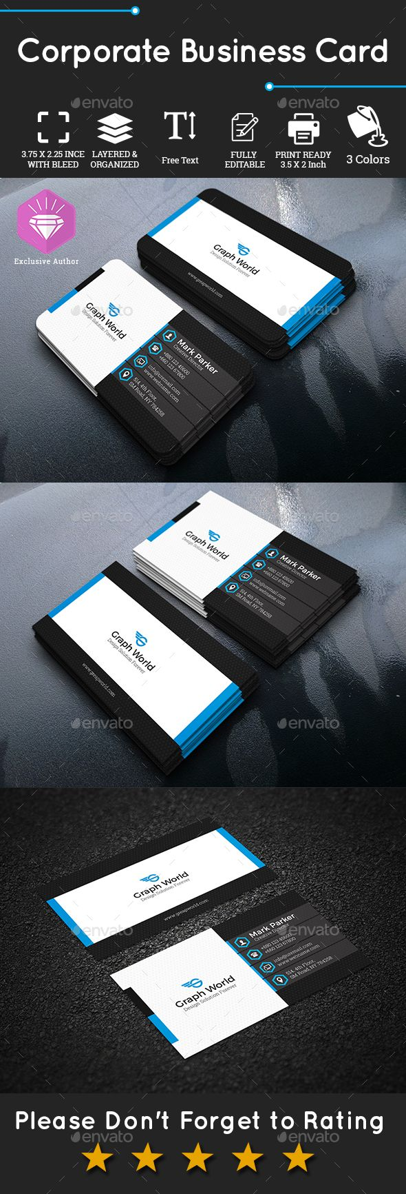 Corporate Business Card Corporate Business Cards Corporate Business Card Business Cards Business Card Template Psd