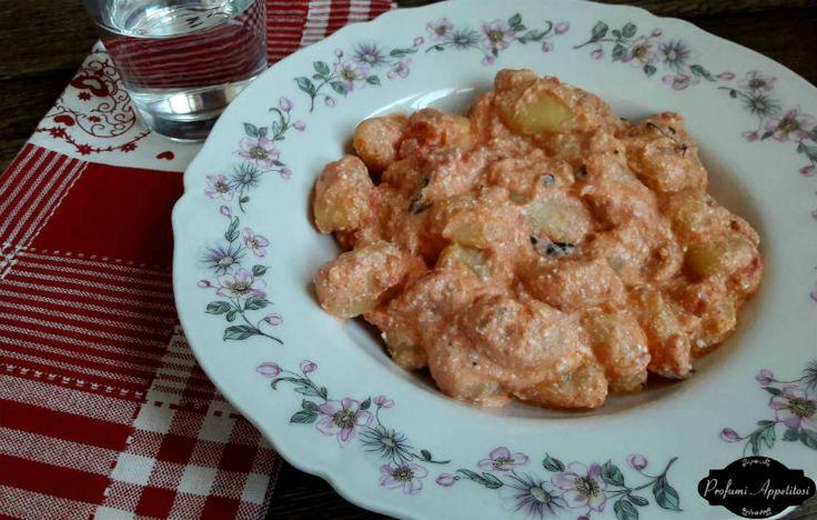 Gnocchi di patate cremosi con pomodoro e ricotta ricetta