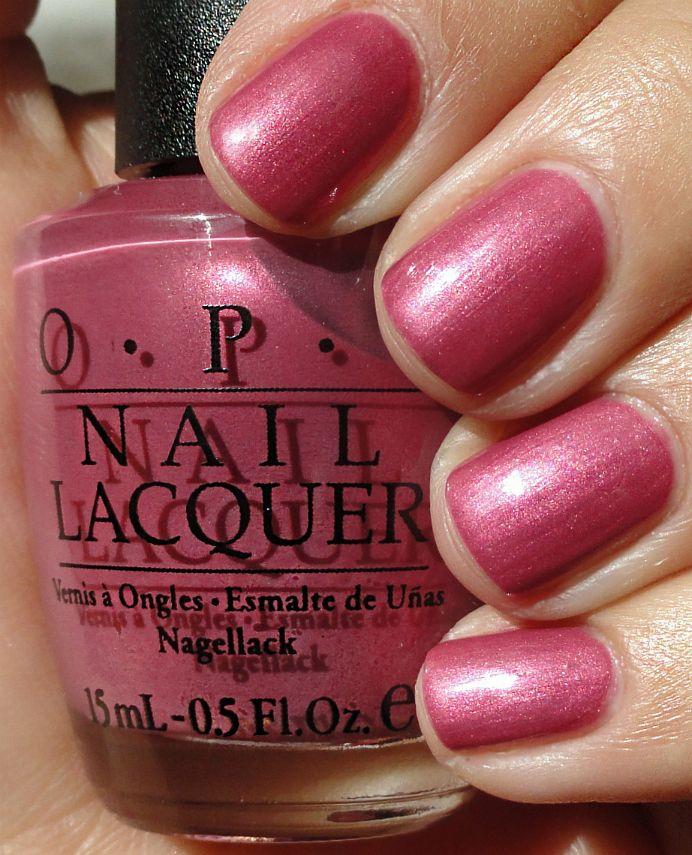 Opi Nail Polish Mauve Color: 56 Best Purchased Polishes Images On Pinterest