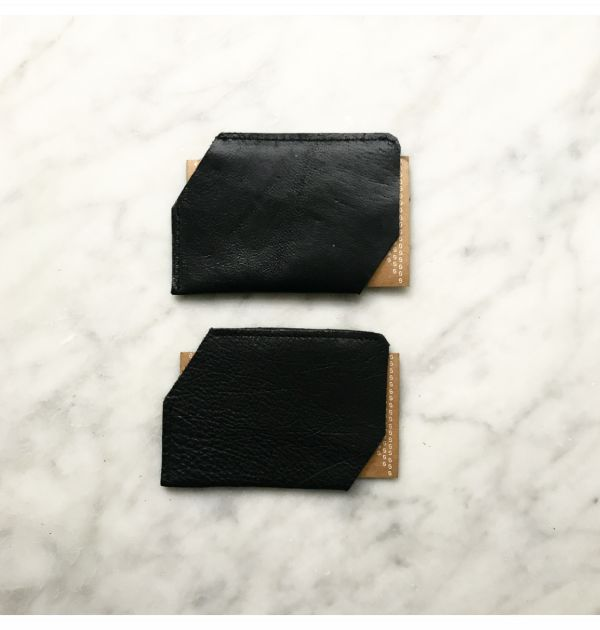 GRAY&Co. Leather Card Holder Black