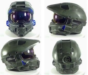 Halo Master Chief Limited Edition Motorcycle Helmet Replica -  From the award-winning Halo video game series this detailed replica of Master Chief's headgear is also a DOT-approved modular motorcycle helmet! Master Chief Petty Officer John-117 is a central figure at the forefront of the war against the Covenant and - Check it out here: https://geekify.me/product/Halo-Master-Chief-Limited-Edition-Motorcycle-Helmet-Replica #geekifyme