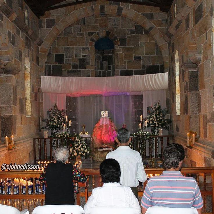 #JuevesSanto Monumento del Santuario Diocesano de Ntra Sra de Guadalupe.