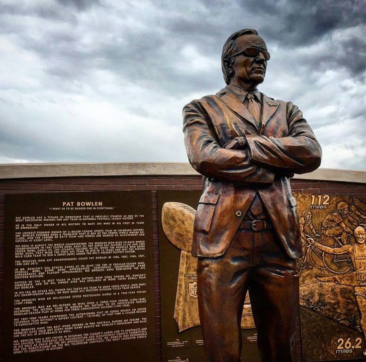 """Pat Bowlen - Owner """"The Man Who Gave Us All The Denver Broncos"""""""