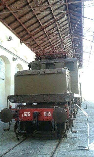 E626.005 nel museo di Pietrarsa