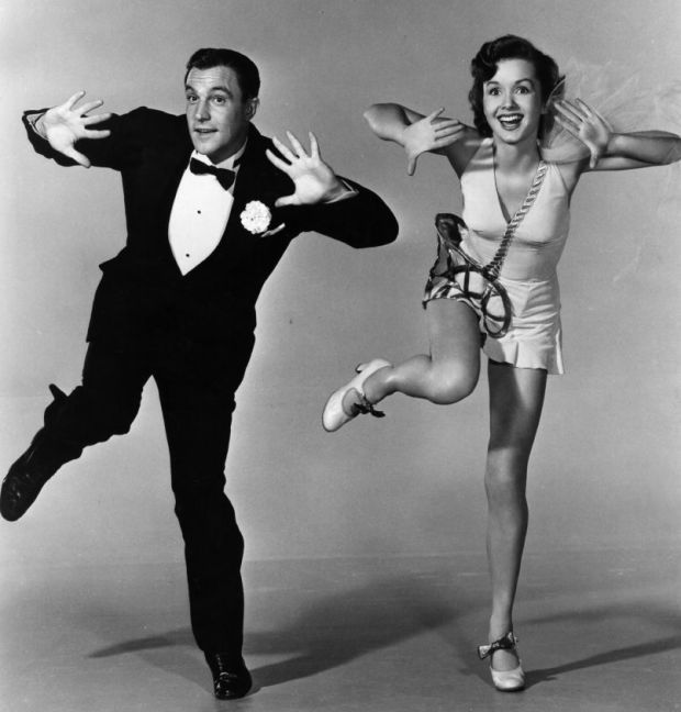 """Debbie Reynolds was just 19 when she starred as Gene Kelly's love interest in """"Singin' in the Rain."""" Description from biography.com. I searched for this on bing.com/images"""