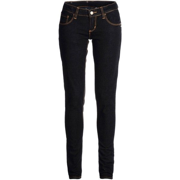 Master&muse X Monkee Genes Jeans (125 CAD) ❤ liked on Polyvore featuring jeans, blue, monkee genes, super skinny jeans, blue jeans, skinny fit jeans and skinny jeans