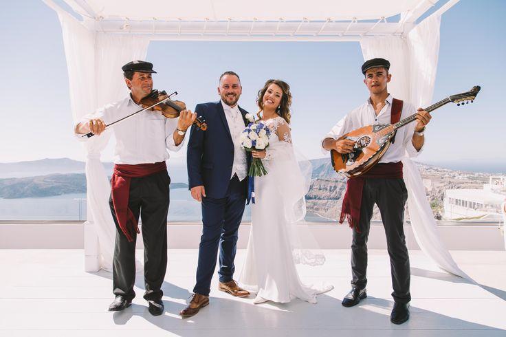 #wedding #weddingphotographer #weddingideas #happiness #musician #violin #bride #groom #white #dress #ceremony #view #unforgetable #moments #love #happy #couple #oia #santorini #mikonos #ios #folegandros #miltoskaraiskakis