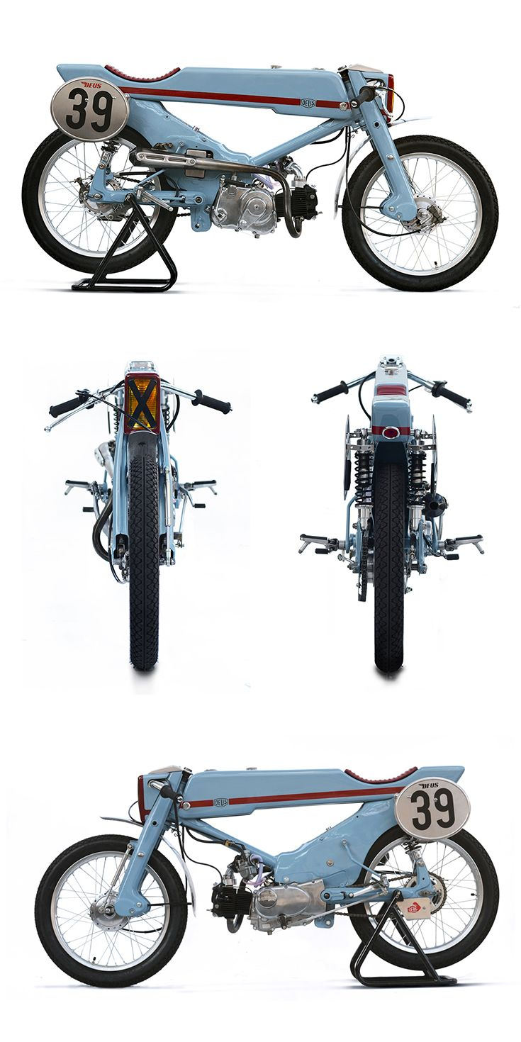Deus Customs in Japan have just built the world's most insane Honda Super Cub.