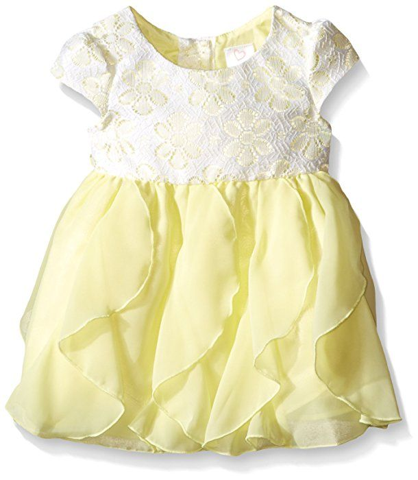 Baby girl yellow dress 12 months