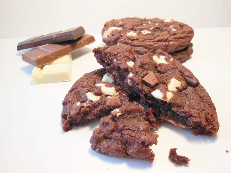 Cookie triple chocolat