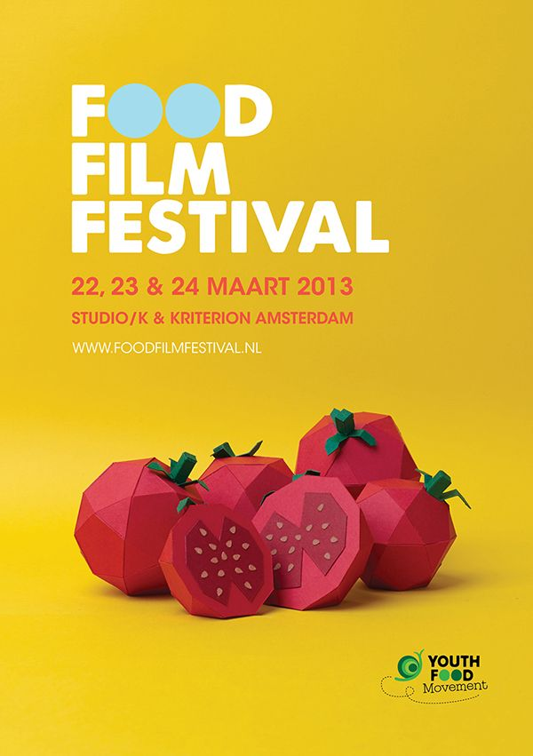 Food Film Festival on Behance