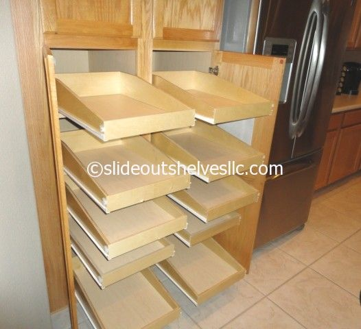 Cabinet Slide Out Shelf Best Pull Shelves Ideas Tip Lowe S: 17 Best Images About Pull Out Pantry Shelves On Pinterest