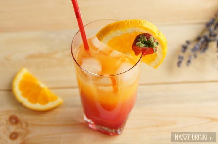 Tequila Sunrise jest bardzo znanym i łatwym do przygotowania drinkiem na bazie tequili. Został spopularyzowany przez piosenkę Eagles z 1973 roku