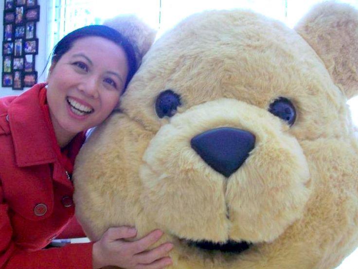 Joy and Dougal Bear on #DaffodilDay #CancerCouncil