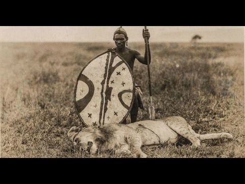 Vídeo: El Leon guerrero - El leon Masai,documental