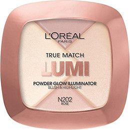 The ultimate in luminosity! L'Oréal introduces its first powder highlighter specifically designed to enhance key features or illuminate all-over. True Match Lumi Powder Glow Illuminator enhances all skin tones and undertones..