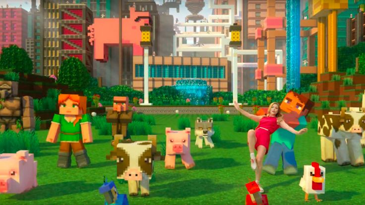 Minecraft Official Super Duper Musical Trailer The graphics pack has been pushed back to 2018 but that's not stopping Supergirl's Melissa Benoist from singing about it. November 20 2017 at 03:34PM  https://www.youtube.com/user/ScottDogGaming