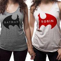 Batman/Robin | nerdy friend tanks?! get out of town @Chelsea Ward