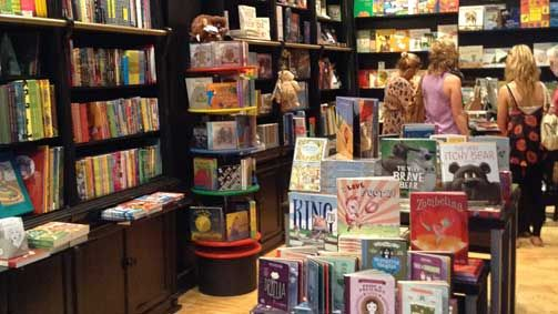 The Little Bookroom 5 Degraves Street, Melbourne, Victoria 3000 Auatralia Immerse yourself in the hundreds of beautifully illustrated and imaginative children's titles and browse bookshelves bursting with colour.