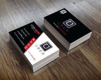 Custom Made UBER business Cards  UBER Driver by eatlovepray1